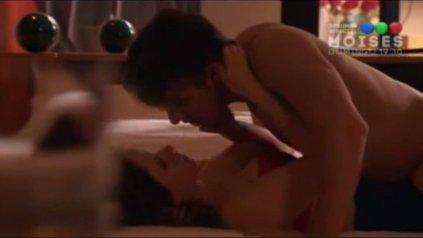 Pablo Echarri y Nancy Duplaá protagonizaron una escena de alto contenido sexual.