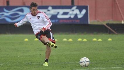 Daniel Mancini está ganando la carrera para ser titular el sábado ante Defensa.