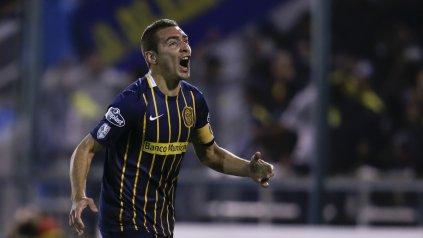 Ruben, el segundo goleador en esta edición de la Libertadores