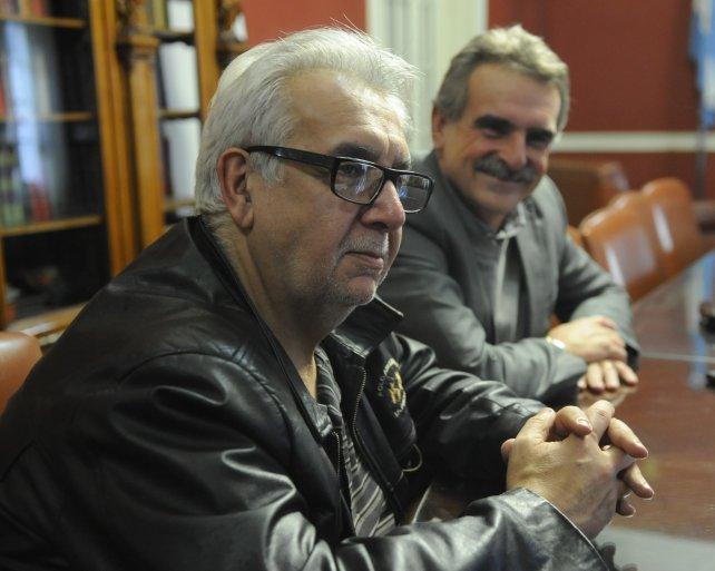 Artemio López estuvo en Rosario invitado por la Corriente Nacional de la Militancia