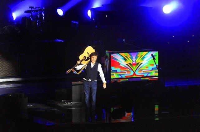 ... McCartney se despidió de la Argentina con un emotivo show en La Plata