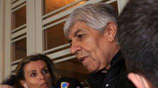 Con los tapones de punta. Hugo Moyano dijo que los dirigentes están sufriendo aprietes por las elecciones.