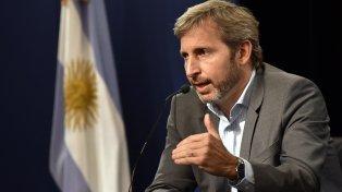 El ministro del Interior, Rogelio Frigerio.