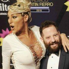 José Ottavis y Vicky Xipolitakis en épocas de felicidad.