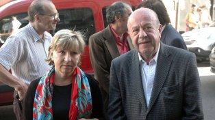 María Elena Torresi, diputada bonaerense, y Osvaldo Mércuri, ambos víctimas de los raptores.