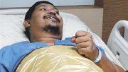 Attaporn Boonmakchuay pasó un mal momento pero en el hospital se mostró con muy buen ánimo.