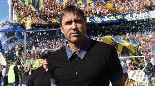 Eduardo Coudet oficializó que seguirá siendo el director técnico de Rosario Central.