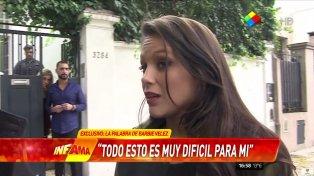 Barbie Vélez habló con Infama y contó lo que está viviendo.