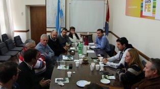 El secretario de Lechería recibió a productores y cooperativistas.
