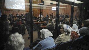 Justicia. Integrantes de las Madres presenciaron la audiencia de ayer y manifestaron satisfacción por las condenas.