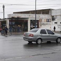 La zona de Avellaneda y Saavedra, donde perdió la vida