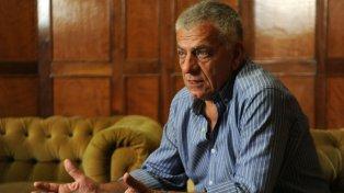 El expresidente de Newells, Guillermo Lorente.