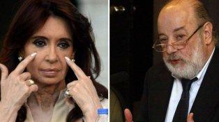 Enfrentados. Un día después de declarar ante Bonadio, Cristina lo denunció ante la Magistratura.