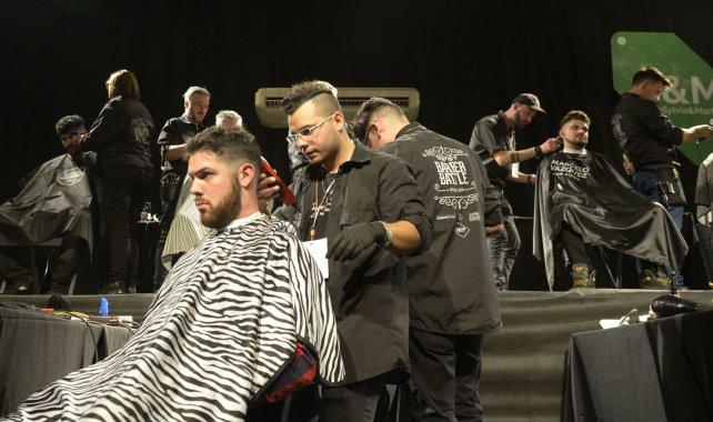 Barber Battle, la guerra de las tijeras con estilo pasó por Rosario