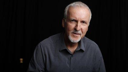 """James Cameron, el director de """"Titanic"""" y """"Avatar""""."""