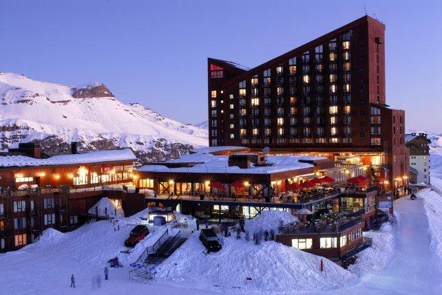El hotel Valle Nevado y su muy buen servicio.