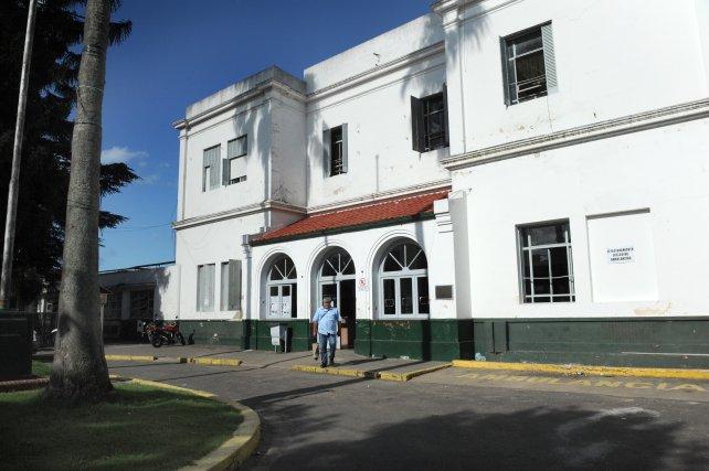 El Hospital Roque Sáenz Peña, donde fue derivado el joven herido