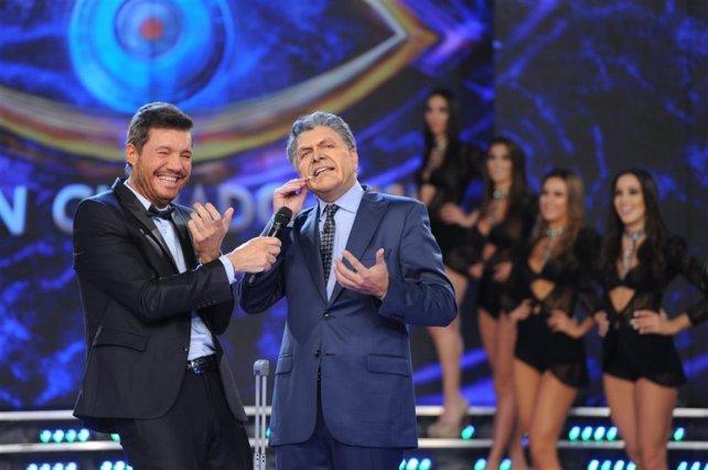 Tinelli y Freddy Villarreal, el imitador de Macri.
