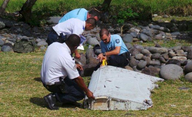 El flaperón hallado en la isla Reunión sería la evidencia más fuerte de que el Boeing 777 fue