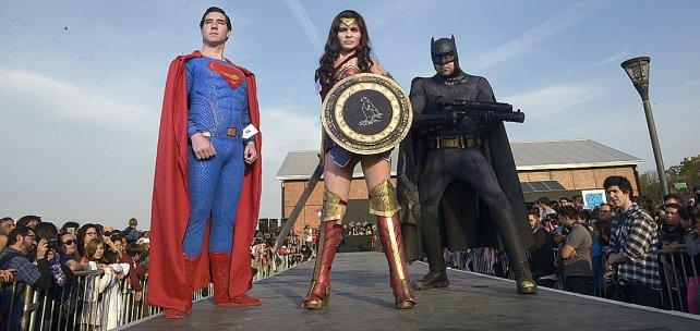 Superman, Batman y la Mujer Maravilla, clásicos inoxidables del género.