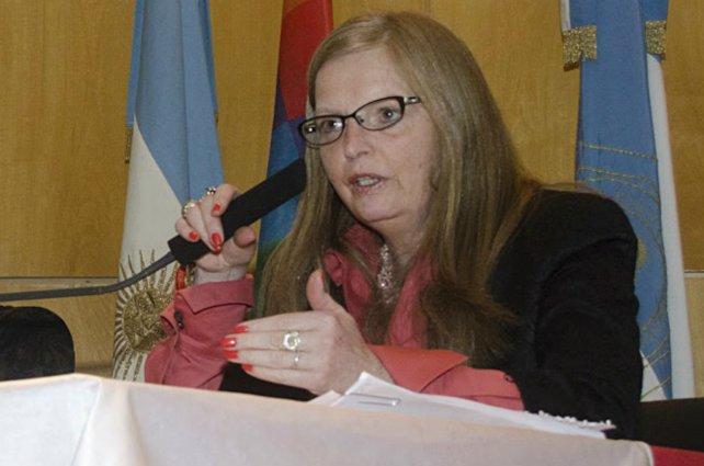 La jueza Martina Forns.