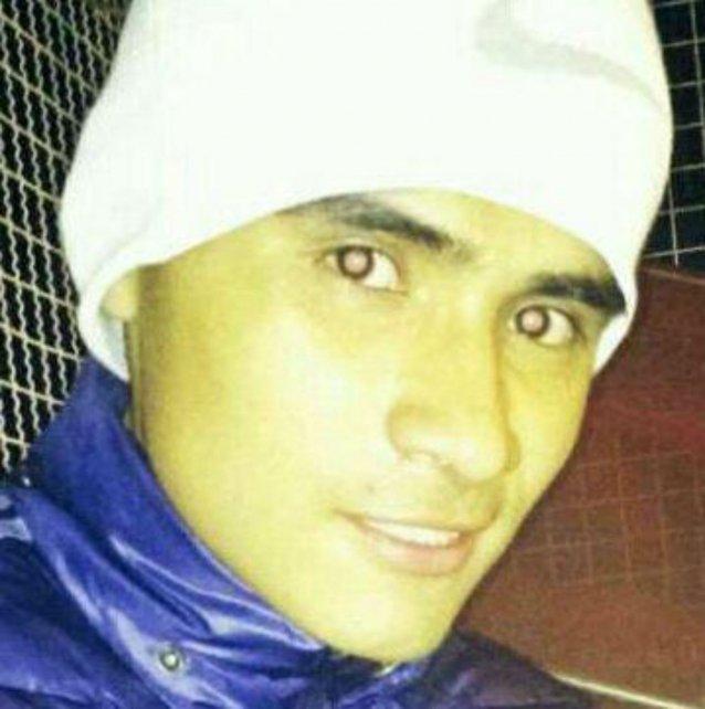 El peruano detenido, acusado de ser el autor del crimen de Nahuel Ciarroca.