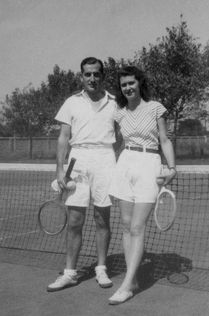 Oesterheld y Diana se conocieron en el club Arquitectura de Núñez, donde a él lo llamaban