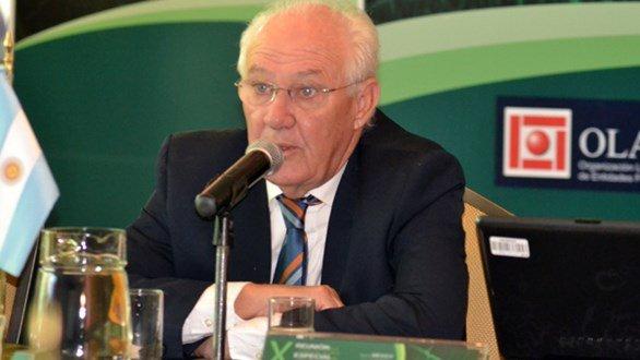 El dirigente del PJ, Oscar Lamberto.