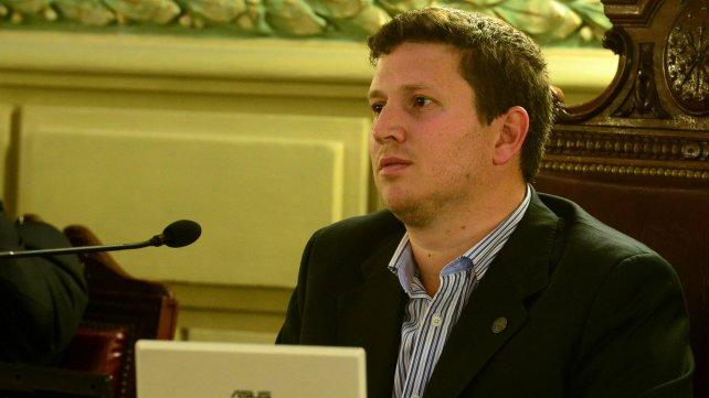 Federico Angelini, diputado macrista, volvió a criticar la política de seguridad del Frente Progresista.