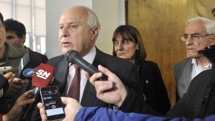 El gobernador Miguel Lifschitz calificó de