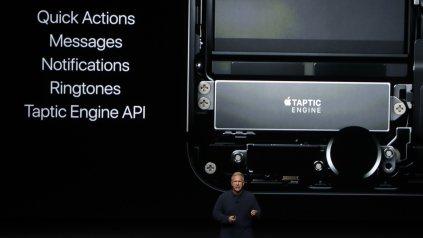 Apple presentó hoy su nuevo modelo del iPhone en su sede central en San Francisco.