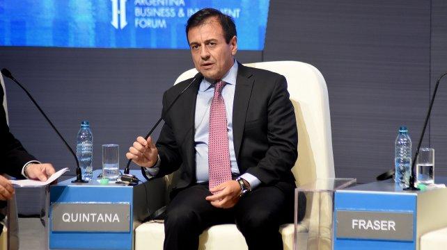 El secretario de Coordinación Interministerial, Mario Quintana.