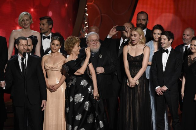 "El elenco de ""Game of Thrones"""" en los Emmy."