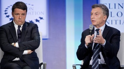 El presidente Mauricio Macri habló en la Clinton Global Initiative.