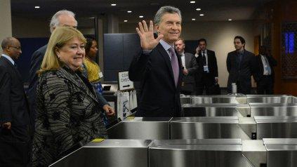 La canciller argentina Susana Malcorra dijo que Londres tiene voluntad de hablar de Malvinas.