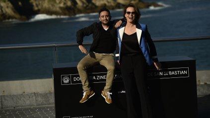 """Sigourney Weaver llegó a San Sebatián para presentar la película española """"A Monster Calls"""", de Juan Antonio Bayona."""