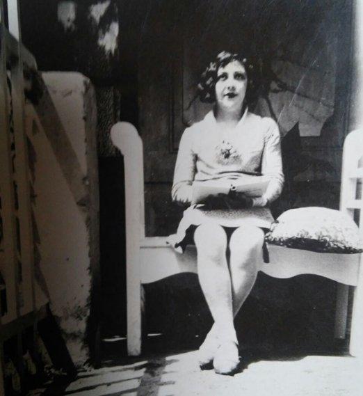 Una fotografía de Dora en sus años de juventud.