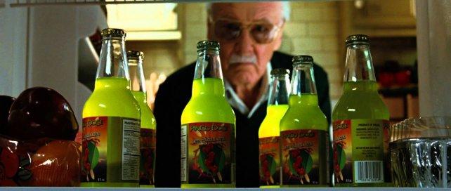 Stan Lee, en un cameo de Hulk.