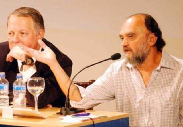 Dibuje, maestro. El Negro dio una cátedra de humor en el Teatro El Círculo.
