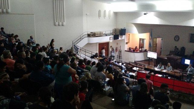 Los debates se dieron el lunes pasado, en un recinto a pleno