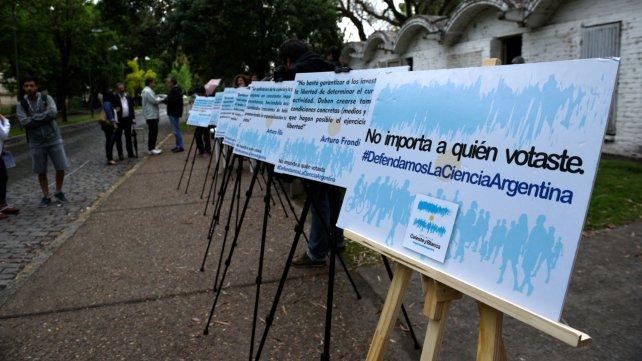 La protesta se realizó en las puertas de La SIberia.