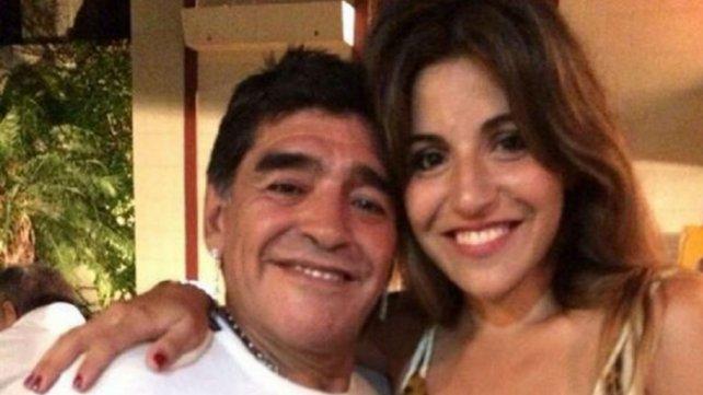 Giannina y Diego. Hoy por hoy, en una relación difícil.