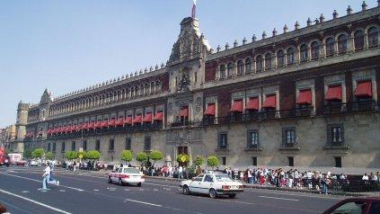 El Palacio de Gobierno en el Centro Histórico de la ciudad.
