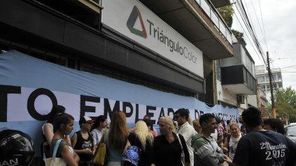 Empleados de Comercio presentó su plan para volver a poner en marcha Triángulo Color.