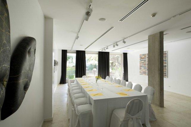 El salón de eventos de Vitrum Hotel.
