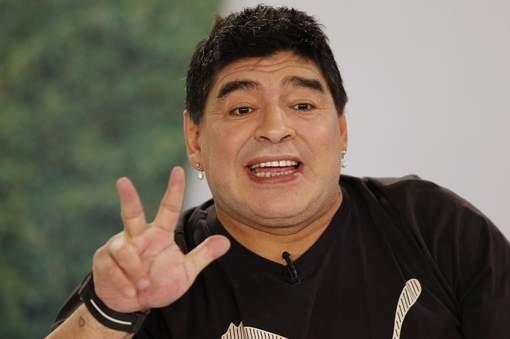 Diego habló sobre la crisis en el fútbol argentino.