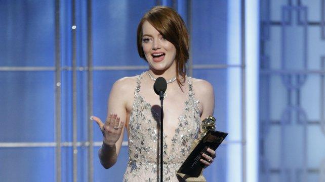 Emma Stone se llevó un premio.
