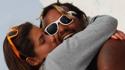 Gessica Notaro y Jorge Edson Tavares, en tiempos felices.