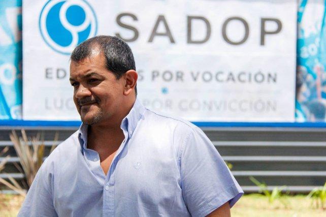 Martín Lucero considera que el incremento del año pasado fue insuficiente.