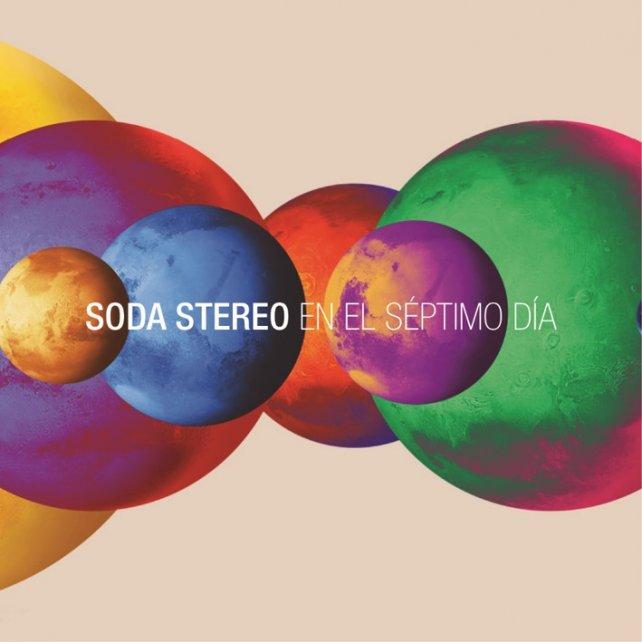 La tapa del nuevo CD de Soda Stereo con la música del espectáculo.